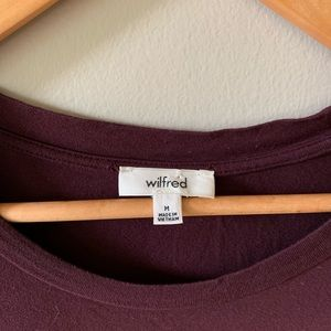 Aritzia Tops - Wilfred Lace T-Shirt